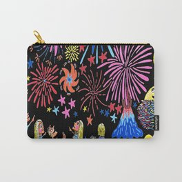 let's go see fireworks Carry-All Pouch