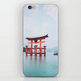 Floating Shringe of Miyamima iPhone Skin