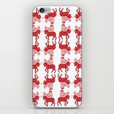 saddle horse   iPhone & iPod Skin