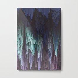 Abstract Waterfall Metal Print