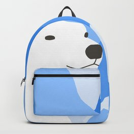 Polar Bear In The Cold Design Backpack