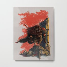 Romulus Triumphant Metal Print