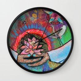 Gaia Connection Wall Clock