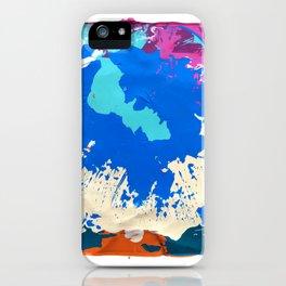 RAIN OVER CALICO iPhone Case
