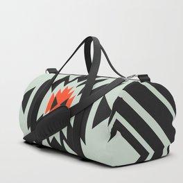 Geometric pair Duffle Bag