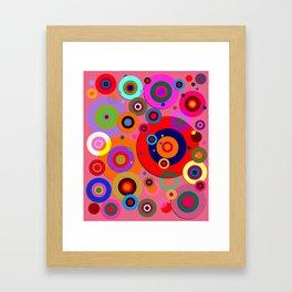 Op Art #18 Framed Art Print