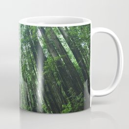 Redwood National Park- Pacific Northwest Nature Photography Coffee Mug