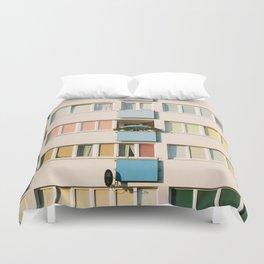Apartment Life Duvet Cover
