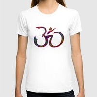 om T-shirts featuring OM by Tali Rachelle