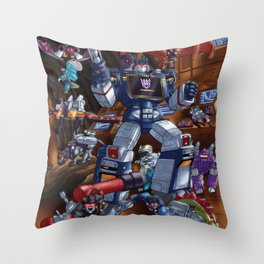 Cries and screams are music to my ears Throw Pillow