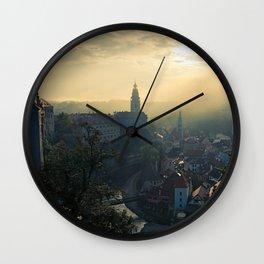 Cesky Krumlov Czech Republic Wall Clock