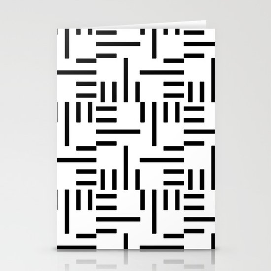 Kemper Black & White Stationery Cards