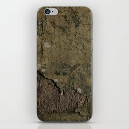 Mansion Plaster Wall iPhone Skin