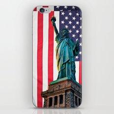 Liberty Patriot iPhone & iPod Skin