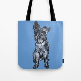 Rupert the Miniature Schnauzer Tote Bag