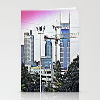 nashville Stationery Cards featuring Nashville Grit by Andooga Design