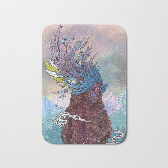 Journeying Spirit (Bear) Bath Mat