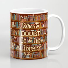 Go to the library Mug