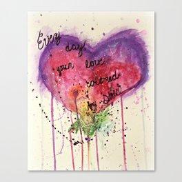 Colored Soul Canvas Print