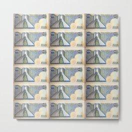 200 Rials Freedom Metal Print