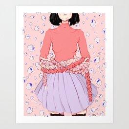 Kat's Kradle Art Print