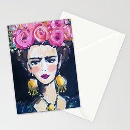 Folklorico Frida Stationery Cards