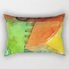 A color-washed life 5 Rectangular Pillow