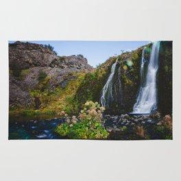 Hidden oasis in Iceland Rug