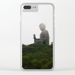 Seeking Serenity in the Chaos Clear iPhone Case