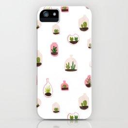 pink terrariums iPhone Case