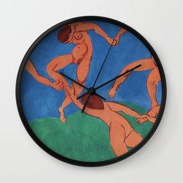 THE DANCE - HENRI MATISSE Wall Clock
