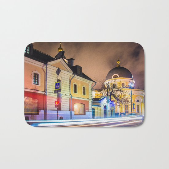 Evening in Moscow Bath Mat