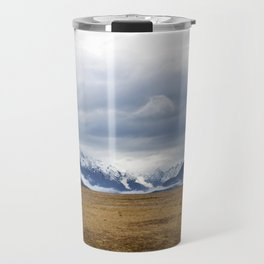 The Home of the Long White Cloud on the Road to Milford Sound Travel Mug