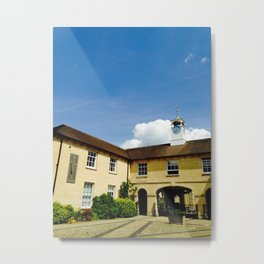 Oxford Clocktower Metal Print