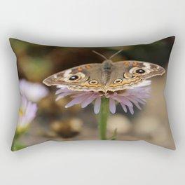 Brown Butterfly Rectangular Pillow