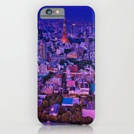 Tokyo Japan megalopolis Evening Cities Building Megapolis Houses iPhone Case