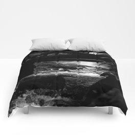 Waterfall Bridge Comforters