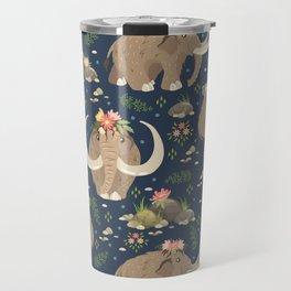 Cute mammoths Travel Mug