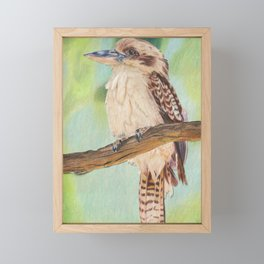 Kookaburra, Australian Bird Framed Mini Art Print