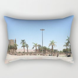 Temple of Luxor, no. 17 Rectangular Pillow