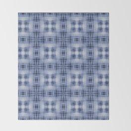 Shibori Japanese Kimono pattern Throw Blanket