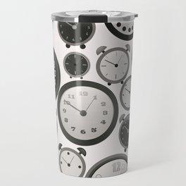 Vintage Clocks Travel Mug