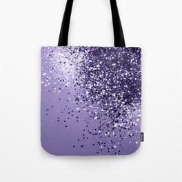 ULTRA VIOLET Glitter Dream #1 #shiny #decor #art #society6 Tote Bag