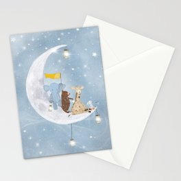 starlight wishes with you Stationery Cards