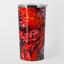 Fossil and Flowers Travel Mug