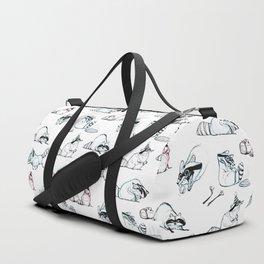 Coon Comic Pattern Duffle Bag