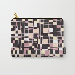 abstract background tile vitrage illustration geometric decorative mosaic art pattern Carry-All Pouch