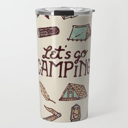 Lets Go Camping Travel Mug