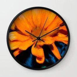 Flowers 401 Wall Clock