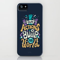Build Our World Slim Case iPhone SE